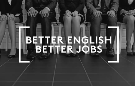Better English better jobs